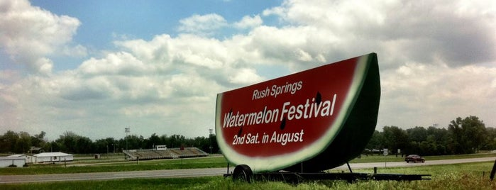 Rush Springs Watermelon Festival is one of Favorite Places.