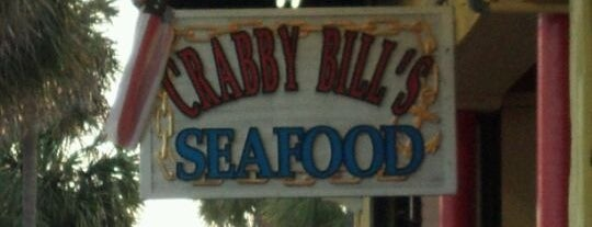 Crabby Bill's Clearwater Beach is one of Oh the places I love..