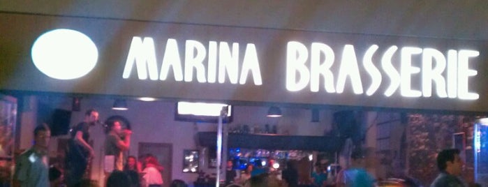 Marina Brasserie is one of Top 10 favorites places in Yalova.