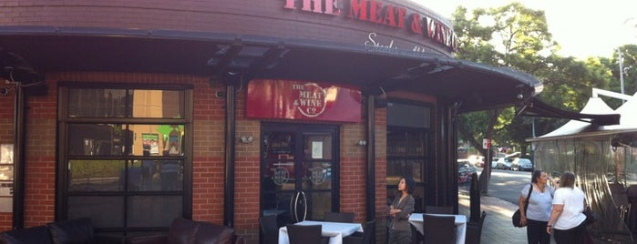 The Meat & Wine Co is one of Top 10 dinner spots in Sydney, Australia.
