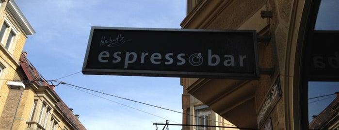 Herbert'z Espressobar is one of Wo in Stuttgart.