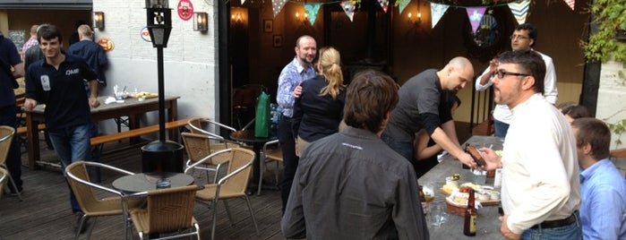 The New Cross House is one of London's Best Beer Gardens.