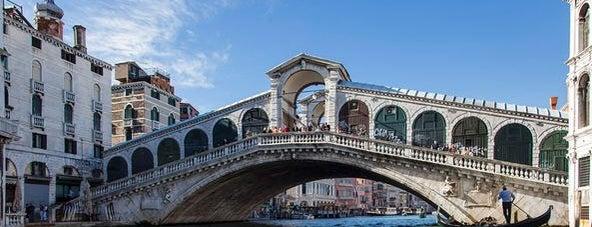 Rialto Bridge is one of Italy.