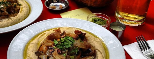 Zula Hummus Café is one of Berlin's Best Vegetarian - 2013.