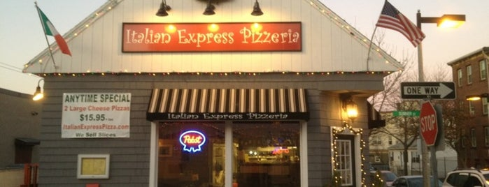 Italian Express Pizzeria is one of Must See Boston.