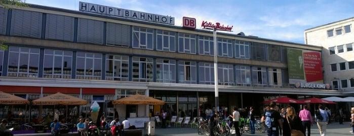 Kassel Hauptbahnhof is one of Bahnhöfe DB.