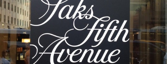 Saks Fifth Avenue is one of NYC, here we go.