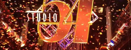 Studio 54 is one of Vegas nightlife.