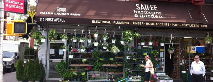 Saifee Hardware & Garden is one of plant walk.