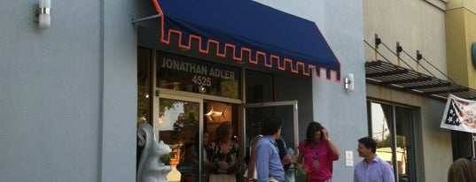 Jonathan Adler is one of Knox Street Dallas.