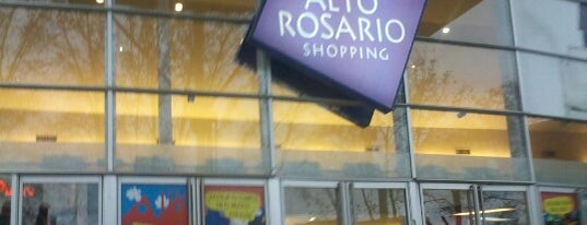 Alto Rosario Shopping is one of Lugares.