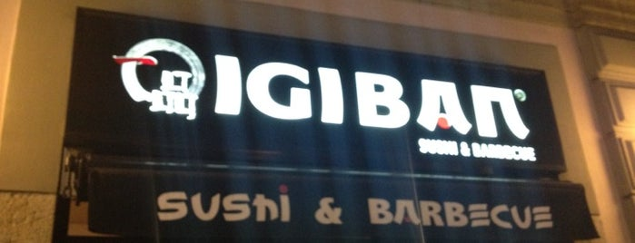 Igiban Japanese Restaurant is one of my greatest hits.