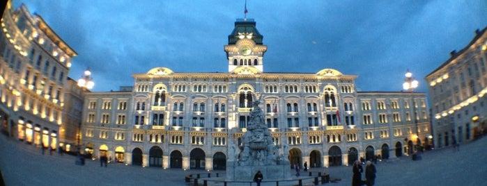 Piazza Unità d'Italia is one of Trieste.