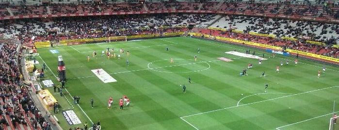 Estadio Ramón Sánchez-Pizjuán is one of Campos de fútbol.