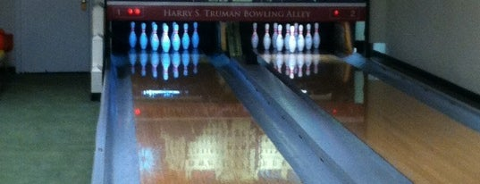 White House Bowling Alley is one of DC's favorites.