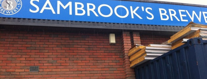 Sambrook's Brewery is one of To Do.