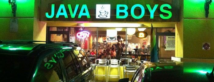 Java Boys is one of Favorite Food.