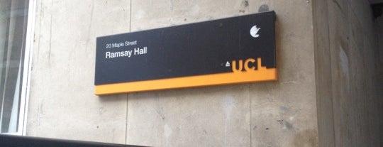 UCL Ramsay Hall is one of Любимые места.