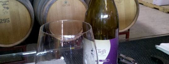 Tefft Cellars is one of Woodinville Wineries.