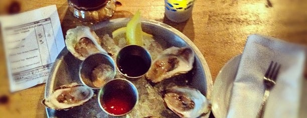 Upstate Craft Beer and Oyster Bar is one of 20 Outstanding Oyster Happy Hours in NYC.