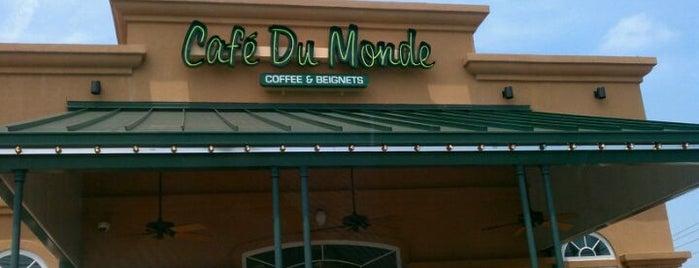 Café Du Monde is one of NOLA.