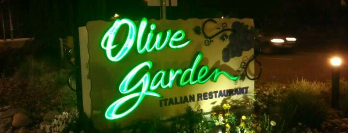 Olive Garden is one of Top 10 restaurants when money is no object.