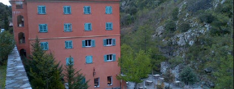 Les Jardins de la Glaciere Hotel Corte is one of Corsica.