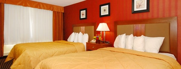 Comfort Inn Riverfront is one of Sweet Spots of Hershey Harrisburg, PA #visitUS #4s.