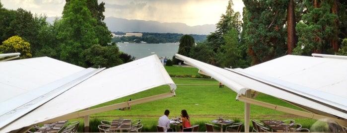 Restaurant Hotel du Parc des Eaux-Vives is one of Genève City Guide.