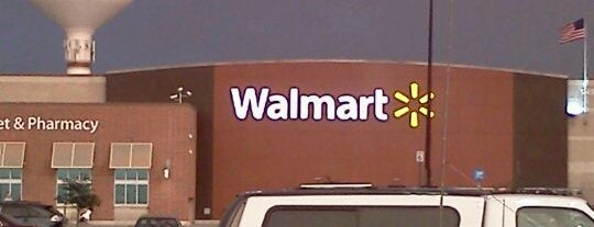 Walmart Supercenter is one of favorites.