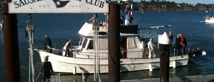 Sausalito Yacht Club is one of Bay Area Yacht Clubs.