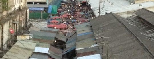 Klong Toei Market is one of Favorite.