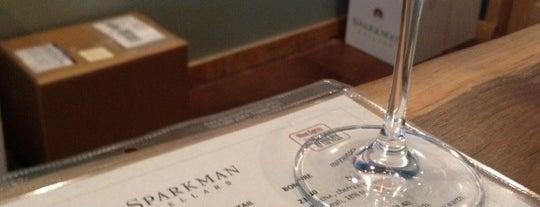 Sparkman Cellars Tasting Room is one of Woodinville Wineries.