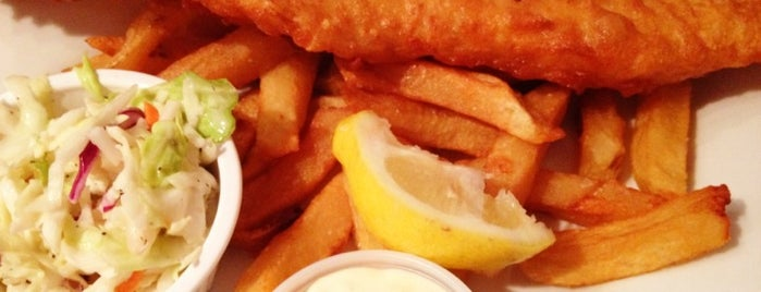 go fish! a british fish + chip shop is one of FOOD!.