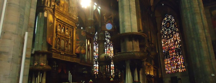 Milan Cathedral is one of My Italian Guide.