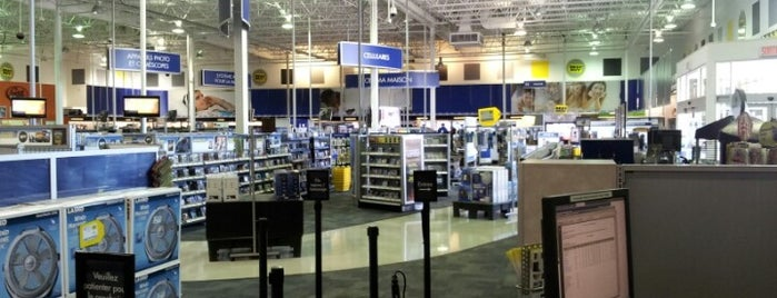 Best Buy is one of Gatineau, Qc.