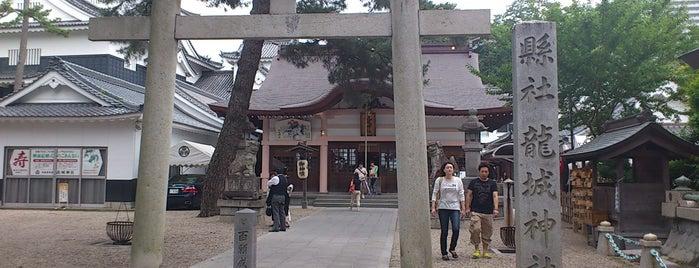 岡崎東照宮 龍城神社 is one of グレート家康公「葵」武将隊.