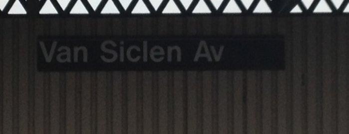 MTA Subway - Van Siclen Ave (3) is one of NYC Subways 4/5/6.