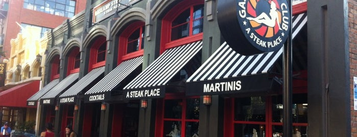 Gaslamp Strip Club Restaurant is one of Establishments to Frequent.