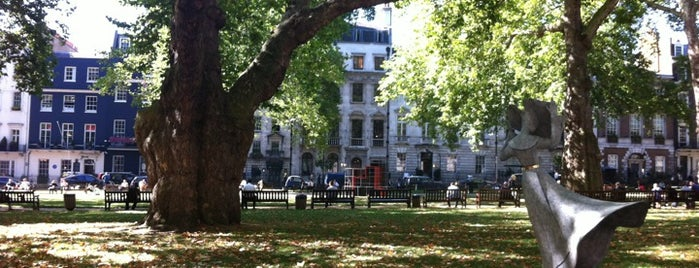 Berkeley Square is one of The Great Trees of London.