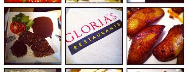 Gloria's is one of Favorite Food.