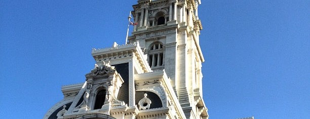Philadelphia City Hall is one of Frequent Places.