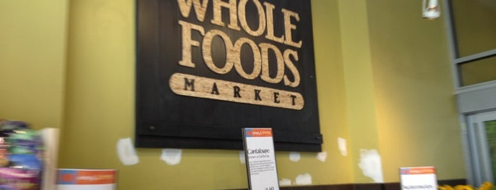 Whole Foods Market is one of NYC - Quick Bites!.