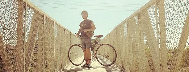LA River Bike Path is one of Cool things to see and do in Los Angeles.