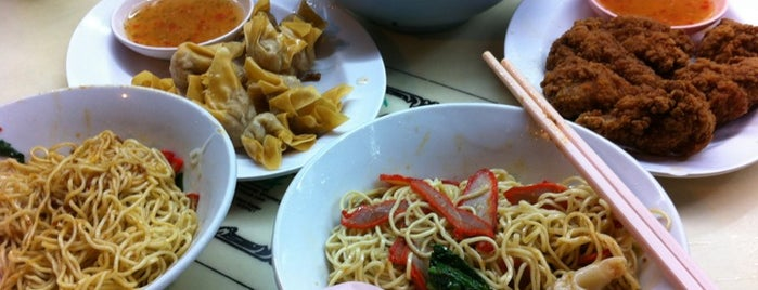 Fei Fei Wan Tan Mee King 飛飛雲吞麵大王 is one of Good Food Places: Hawker Food (Part I)!.