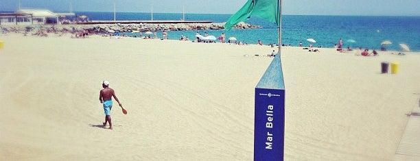 Playa de la Mar Bella is one of Barcelona, baby!.