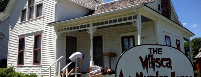 Villisca Ax Murder House is one of Paranormal Traveler.
