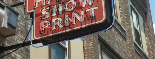 Hatch Show Print is one of 11 Cool Places in Nashville You Really Must Visit.