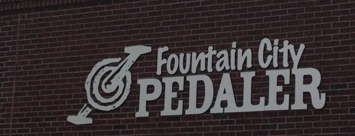 Fountain City Pedaler is one of Fountain City FUN!.