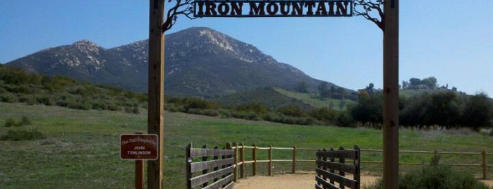 Iron Mountain Trailhead is one of Guide to San Diego's best spots.